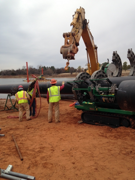 Underwater Utility Directional Bore Jackson County, MO